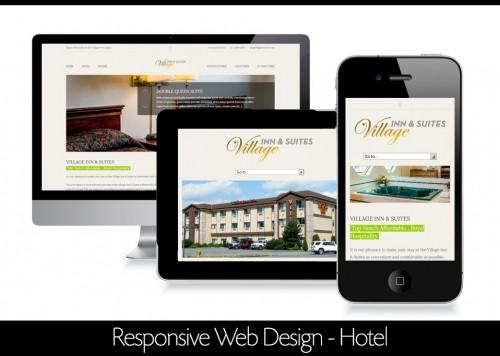 hotel responsive website design